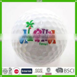 made in china reliable supplier custom logo golf balls