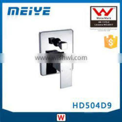 HD504D9 35mm Watermark Australian Standard Shower Mixer with diverter Square Style Faucet Control for Bathroom