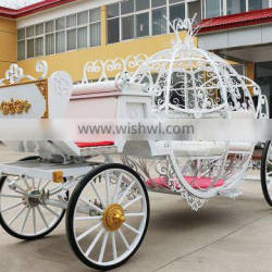 Wedding horse carriage white BISINI horse equipment(BG11-M072)