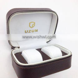 PU leather customized watch packaging box