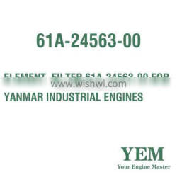 ELEMENT FILTER 61A-24563-00 FOR YANMAR INDUSTRIAL ENGINES