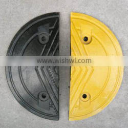 Plastic Reflective Round Speed Hump for driveways