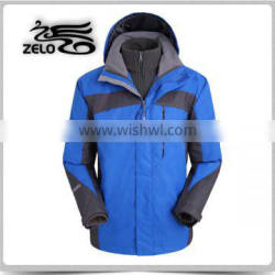 2015 high quality cheap mens 3 in 1 jacket made in china