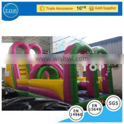 outdoor inflatable obstacle course, inflatable obstacle races