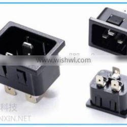 New product 2016 Alibaba China wholesales,IEC 320 C20 inlet connectors for PDU, C20 male connector socket
