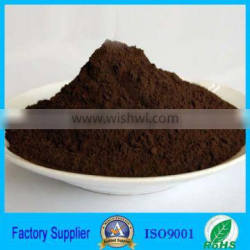 Natural manganese dioxide powder as coating raw material