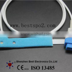 GE Ohmeda Pediatric/Infant Dispsoable SpO2 Sensor Blue Spong DB9 0.85M