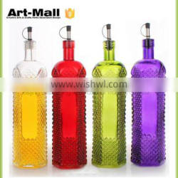 Factory wholesale china top ten selling products crystal glass bottle for alcohol