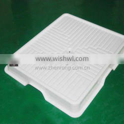 square shaped thick vacuum forming plastic tray