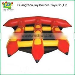 2015 Charming durable waterproof pvc inflatable banana boat for sale