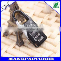 Made In China Customized Design 3 Code Luggage Case Lock