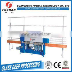 Manufacturer Supplier 9 wheels glass edge polishing machine With Long-term Service