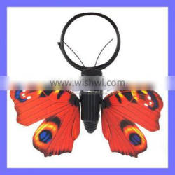 Inner Motor Drive Keep Butterfly Fan Color Wing Flying Best Solar Insect Beast Toys