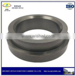 wear resistant tungsten carbide ring with grooving