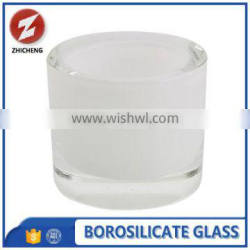 best quality frosted borosilicate 3.3glass for candle