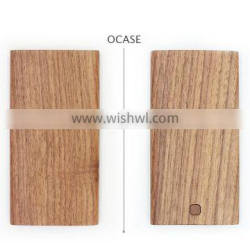High Quality customized real Wood Power Bank 8000mAh for phones