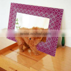 beautiful acrylic 3d illusion picture frame mirror ZD03M