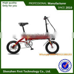 36V folding electric bicycle lithium battery students children use cheap electric vehicle