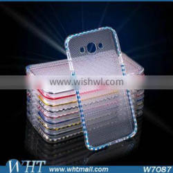 Dual Color TPU Case for Samsung Galaxy A8 Soft Mobile Phone Accessories