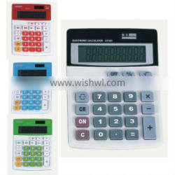 CAL 601 10 Digits Desktop Calculator with Solar and Battery power