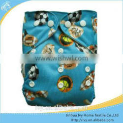 beautiful pattern washable cloth diaper magic baby diapers