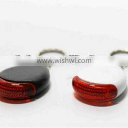 led key finder whistle with ring