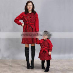 Wholesale mother and daughter matching clothes