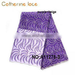 Catherine Wholesale China Supplier Luxury French style Embroidery Fabric Lace