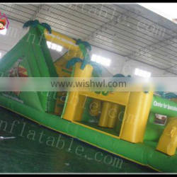 Jungle Inflatable Obstacle Course inflatable maze for sale