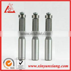 Tungsten carbide cleanning bit with bearing