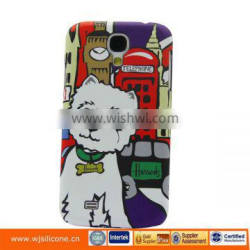 Cute animal Cat design hard pc phone case for samsung s4