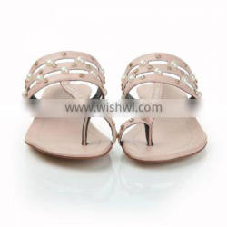 China No Heel Sandals Shoes for Beach Home Open Sandals for Summer 2015 Wholesale