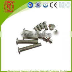 low price plating pan head aluminum rivet for sale