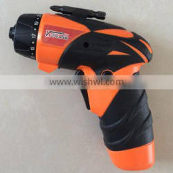 3.6Volt/4.8Volt cordless screwdriver with 23 Torque setting and LED light in blister packing