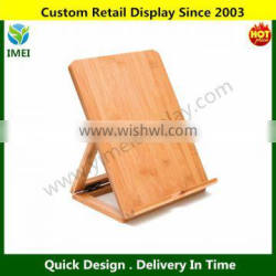 Bamboo Adjustable Ipad Stand, Brown YM5-1445