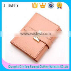 Fashion Candy Color Ladies Short Wallet Card Holder