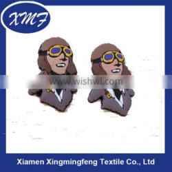 Wholesale Printed Acrylic Clothing Rubber Labels