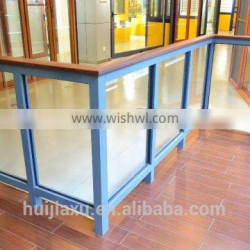 Outdoor iron stairs handrail ,free standing handrails designs