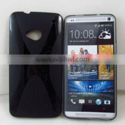 X line tpu case for htc m7 / one / htc one
