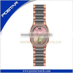 Multicolor Plating Fashion Stainless Steel Watch Quartz Watch
