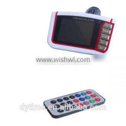 Popular Car Mp4 Player Wireless FM Transmitter With 1.8 LCD Screen.
