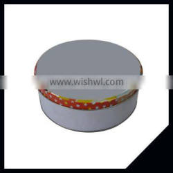 Factory Direct Metal Round Shape Large Storage Box Tea Tin Canister