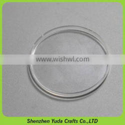 round clear plastic coin display box, coin capsules wholesale