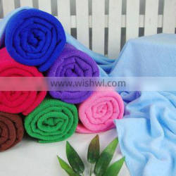 Popular microfiber bath towel with strong water absorption