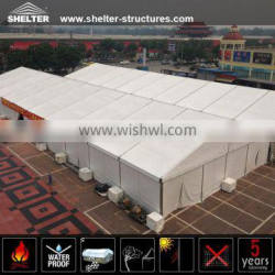 Large church tent 1000 seater by china supplier exhibition tent