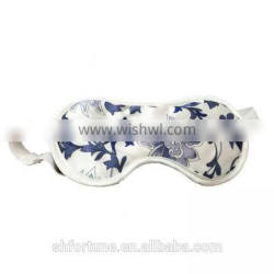 100% nature silk floss filling personalized eye masks