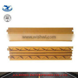 Lower Factoty Price 900*500*50mm Soft Flexible 5 channels Rubber heavy duty cable protector