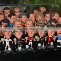 football player OEM action figures/OEM action figure/plastic pvc player OEM action figure