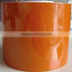 conspicuous single sided adhesive vehicle reflective tape