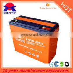 Canton fair 2015 DISCOUNT 12v 48v 20ah e-bike Renewable battery